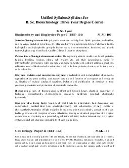 Unified Syllabus Syllabus for B PowerPoint PPT Presentation