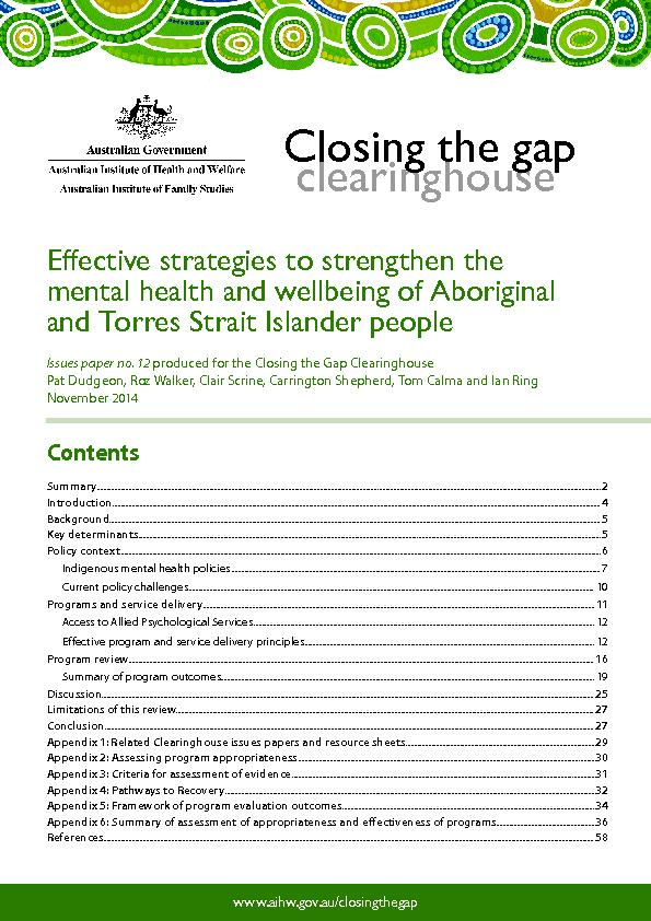 Effective strategies to strengthen the