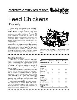 Poultry feeds are referred to as
