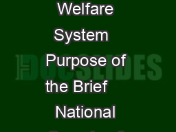 No  Instability and Early Life Ch anges mong Children in the Child Welfare System   Purpose of the Brief     National Sample of Children Involved in Allegations of Maltreatment Measures of Instabilit PDF document - DocSlides