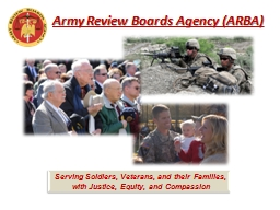 Army Review Boards PowerPoint Presentation, PPT - DocSlides