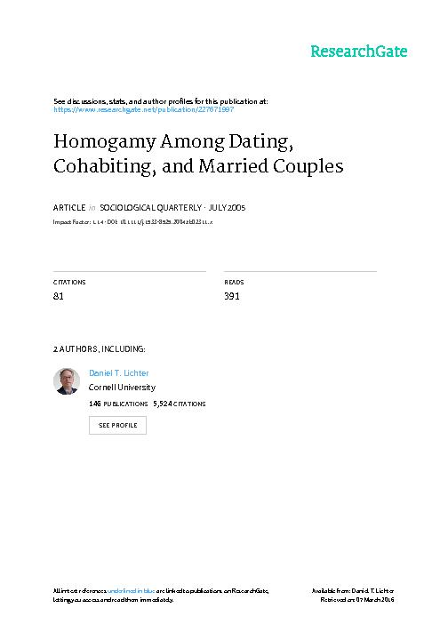 """Married Couples None. Sizable and Protestants The """"Other"""" an"""