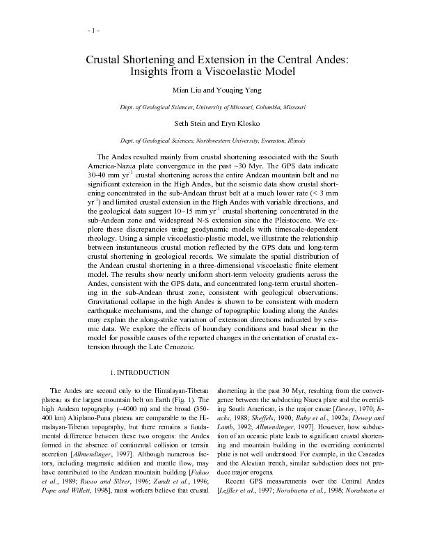Insights from a Viscoelastic Model