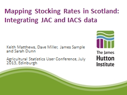 Mapping Stocking Rates in PowerPoint PPT Presentation