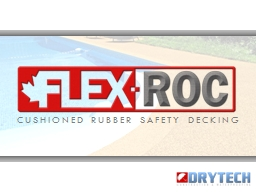 CUSHIONED RUBBER SAFETY DECKING