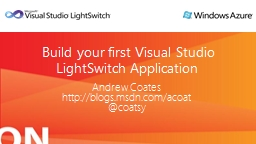Build your first Visual Studio