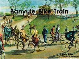 Banyule Bike Train