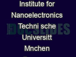 Network Methods in Electromagnetic Field Computation Professor Peter Russer Institute for Nanoelectronics Techni sche Universitt Mnchen Germany Abstract With increasing bandwidths and data rates of m