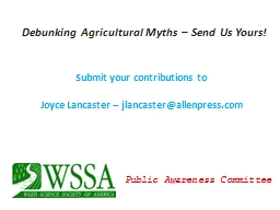 Submit your contributions to