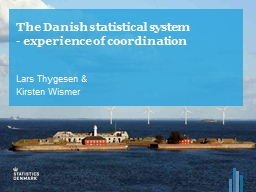 The Danish statistical system PowerPoint PPT Presentation