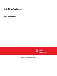 MultiChipPackages MultiChip Packages Literature Number SNOA  MultiChip Packages MultiChip Packages or MCP is a terminology used within National Semiconductor Corp