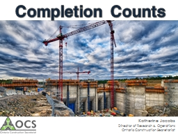Completion Counts