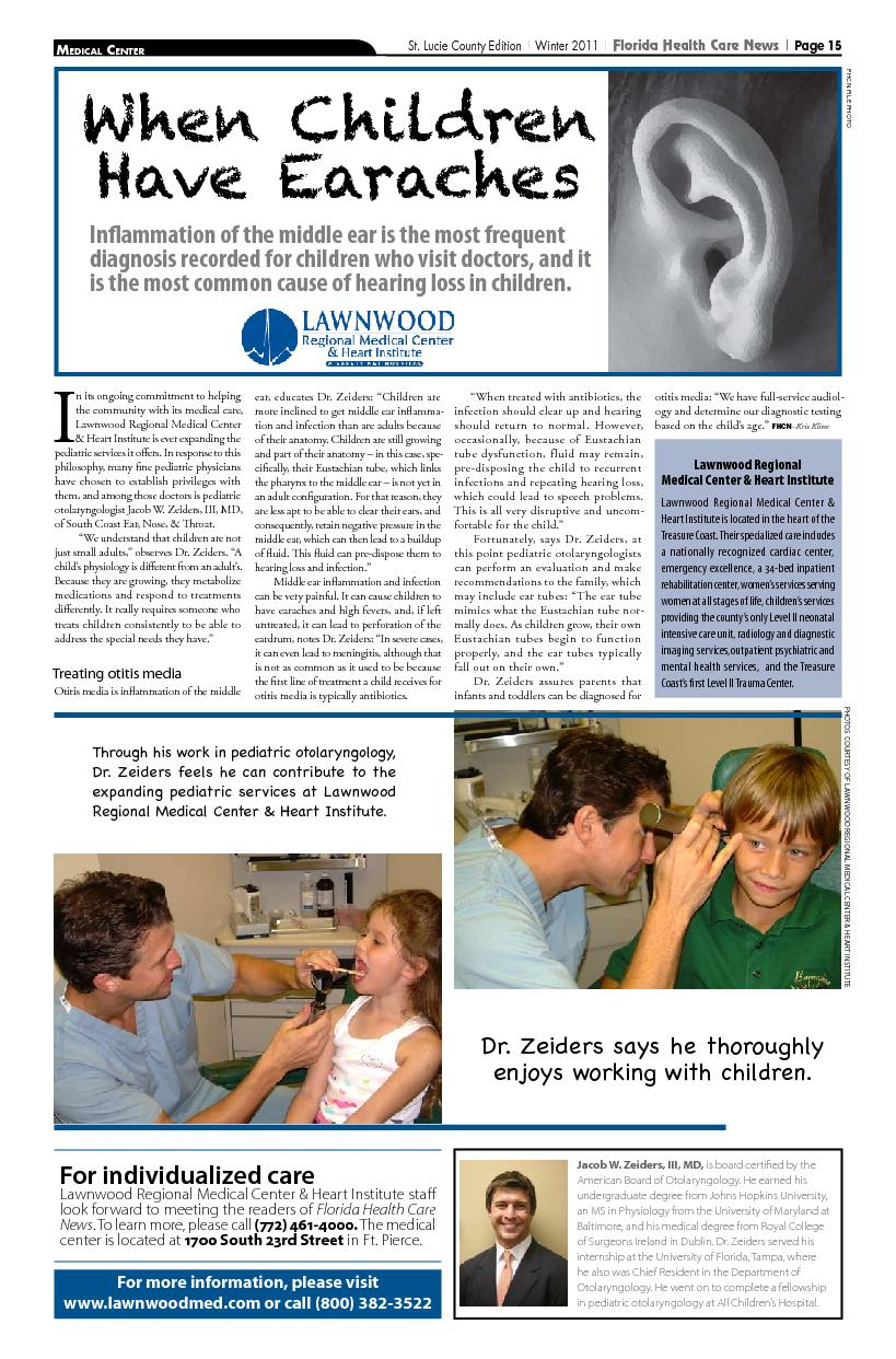 St. Lucie County Edition Florida Health Care News| Page 15