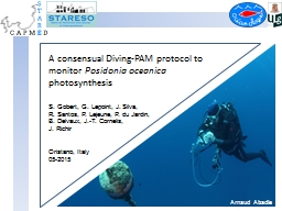 A consensual Diving-PAM protocol to monitor