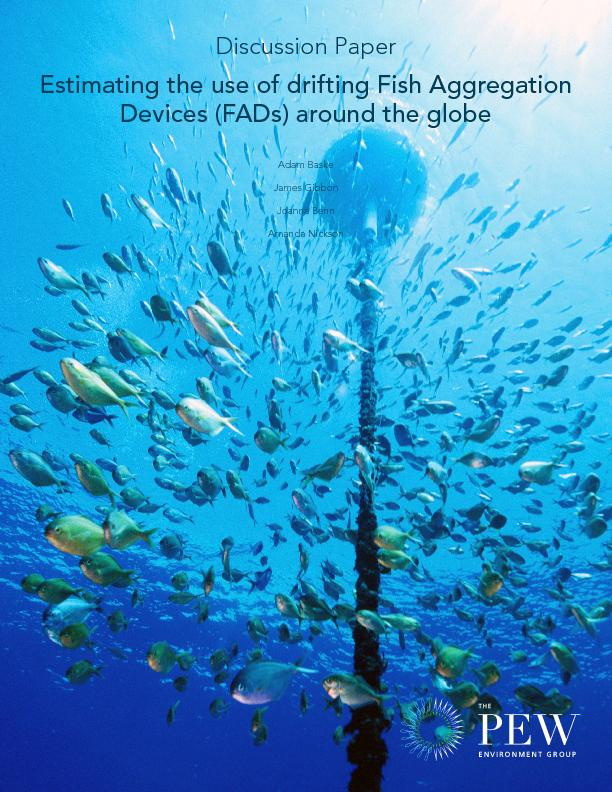 Estimating the use of drifting Fish Aggregation Devices (FADs) around