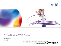 Echo Cookie TCP Option PowerPoint PPT Presentation