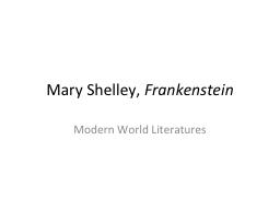 Mary Shelley,