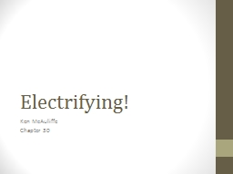Electrifying! PowerPoint PPT Presentation