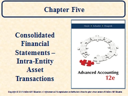 Chapter Five PowerPoint PPT Presentation