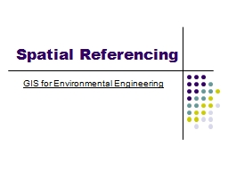 Spatial Referencing