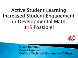 Active Student Learning