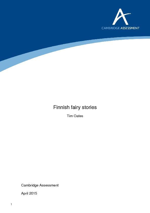 Finnish fairy stories