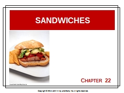 Chapter PowerPoint PPT Presentation