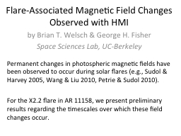 Flare-Associated Magnetic Field Changes Observed with HMI