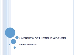 Overview of Flexible Working