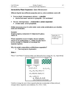 Cer103 NotesShelby Chapter 44-1R.K. BrowImmiscibility/Phase Separation