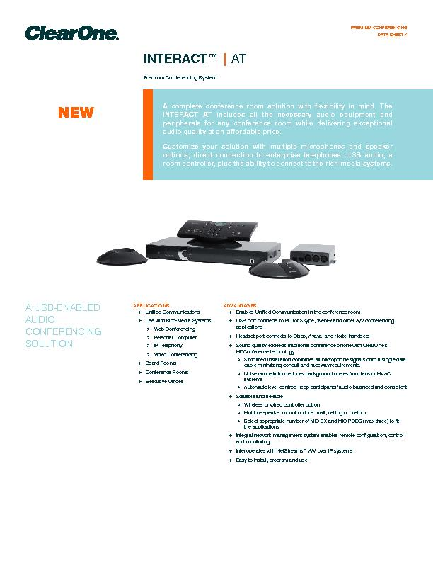 Premium Conferencing System PowerPoint PPT Presentation