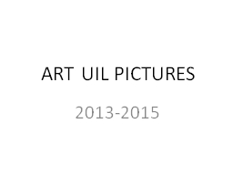 ART UIL PICTURES