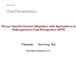 Person-Specific Domain Adaptation with Applications to