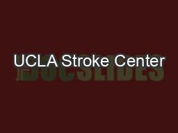 UCLA Stroke Center