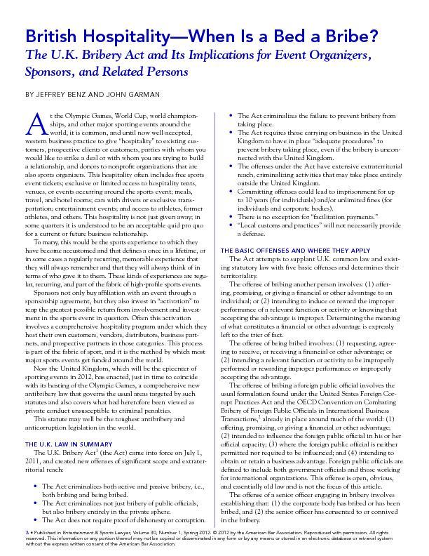 , Volume 30, Number 1, Spring 2012.