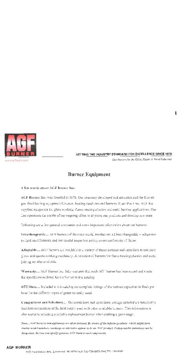 PDF PAGE BALL BURNERS       15 BALL JOINTS AND BALL     16, 17 BLAST T