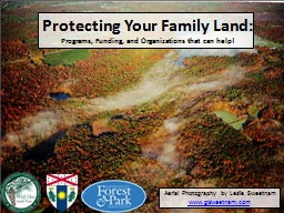 Protecting Your Family Land: