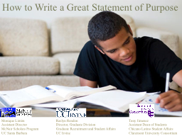 How to Write a Great