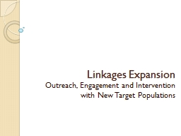 Linkages Expansion PowerPoint PPT Presentation