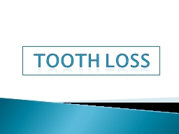Tooth PowerPoint PPT Presentation