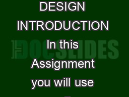 Graphics   Assignment   classes CD JACKET  BOOKLET DESIGN INTRODUCTION In this Assignment you will use any software phot ography or other material to create a CD cover