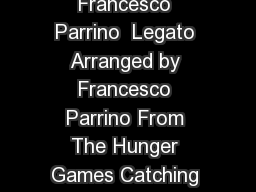 Piano Atlas Coldplay  Francesco Parrino  Legato Arranged by Francesco Parrino From The Hunger Games Catching Fire Soundtrack YouTube www