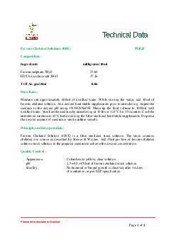 Please refer disclaimer Overleaf Page 1 of 2   Ferrous Chelated Soluti