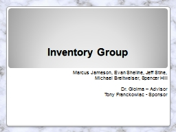 Inventory Group