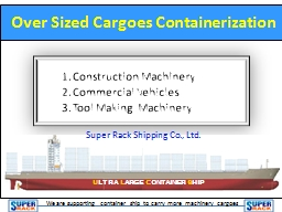 Construction Machinery PowerPoint PPT Presentation
