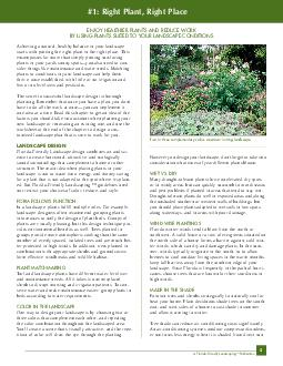 FloridaFriendly Landscaping TM Publication Achieving a natural healthy balance i