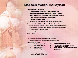 McLean Youth