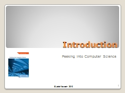 Introduction PowerPoint PPT Presentation