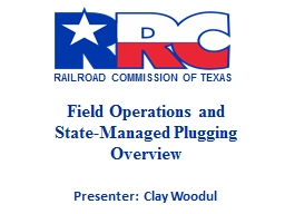 Field Operations and