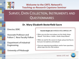Welcome to the CIRTL Network's PowerPoint Presentation, PPT - DocSlides